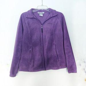 Columbia Women's Purple Fleece Jacket